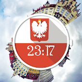 Poland Flag Watch Face