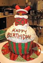 Photo: Santa Birthday Cake December 2010 Blog Post: http://createsharerepeat.blogspot.com/2010/12/project-of-week-santa-birthday-cake.html