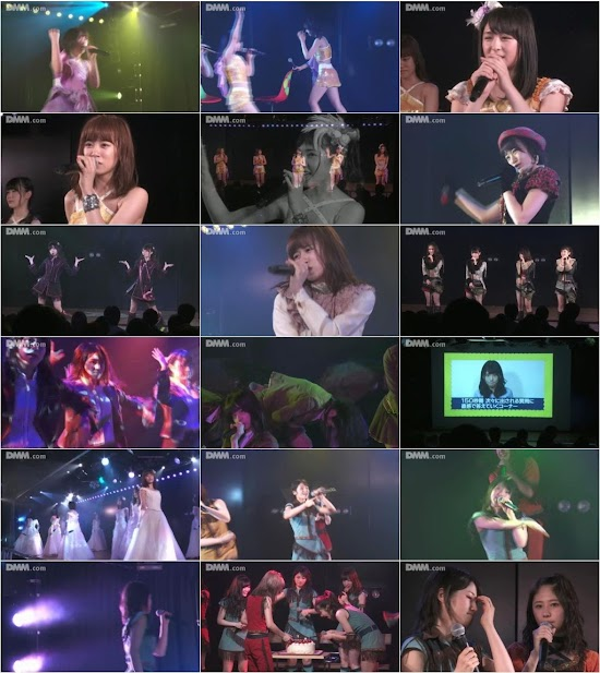 (LIVE)(公演) AKB48 チーム4 「夢を死なせるわけにいかない」公演 村山彩希 生誕祭 160615