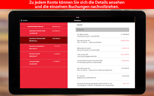S-Finanzcockpit für Firmen-Kunden der Sparkassen for PC-Windows 7,8,10 and Mac apk screenshot 18