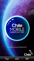 Screenshot of Chile Mobile Observatory