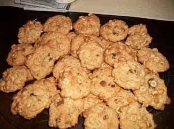 Double Oat Peanut Butter Breakfast Cookie