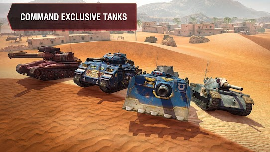World of Tanks Blitz MOD (Unlimited Gold) 4