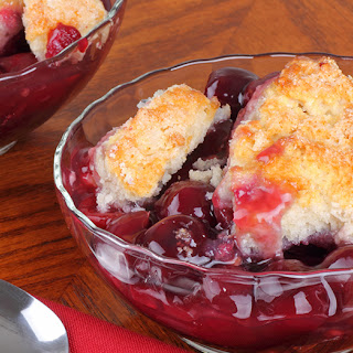 Old Fashioned Cherry Cobbler.