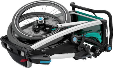 Thule Chariot Lite 1 Trailer and Stroller: Bluegrass, 1 Child alternate image 1