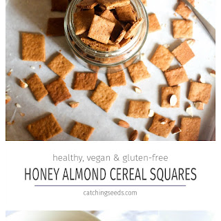 Honey Almond Cereal Squares