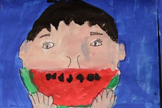 Photo: Watermelon smiles By Grade 1