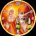 Sai Baba Clock Icon