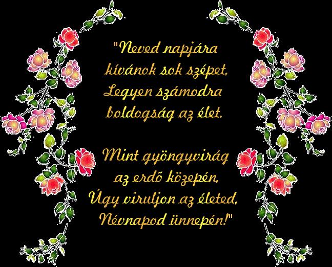 névnapi versek idézetek Marika oldala   Névnapi köszöntők