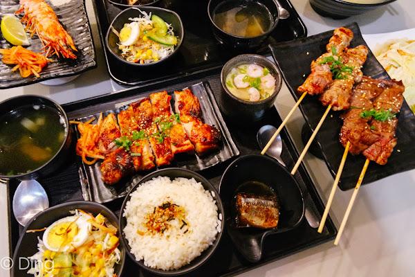 東區平價CP值超高份量多,日式料理米谷手作料理食堂。