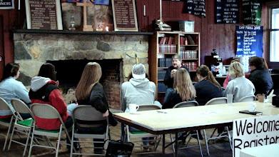 Photo: Bishop Alexander doing his workshop on being an Episcopalian