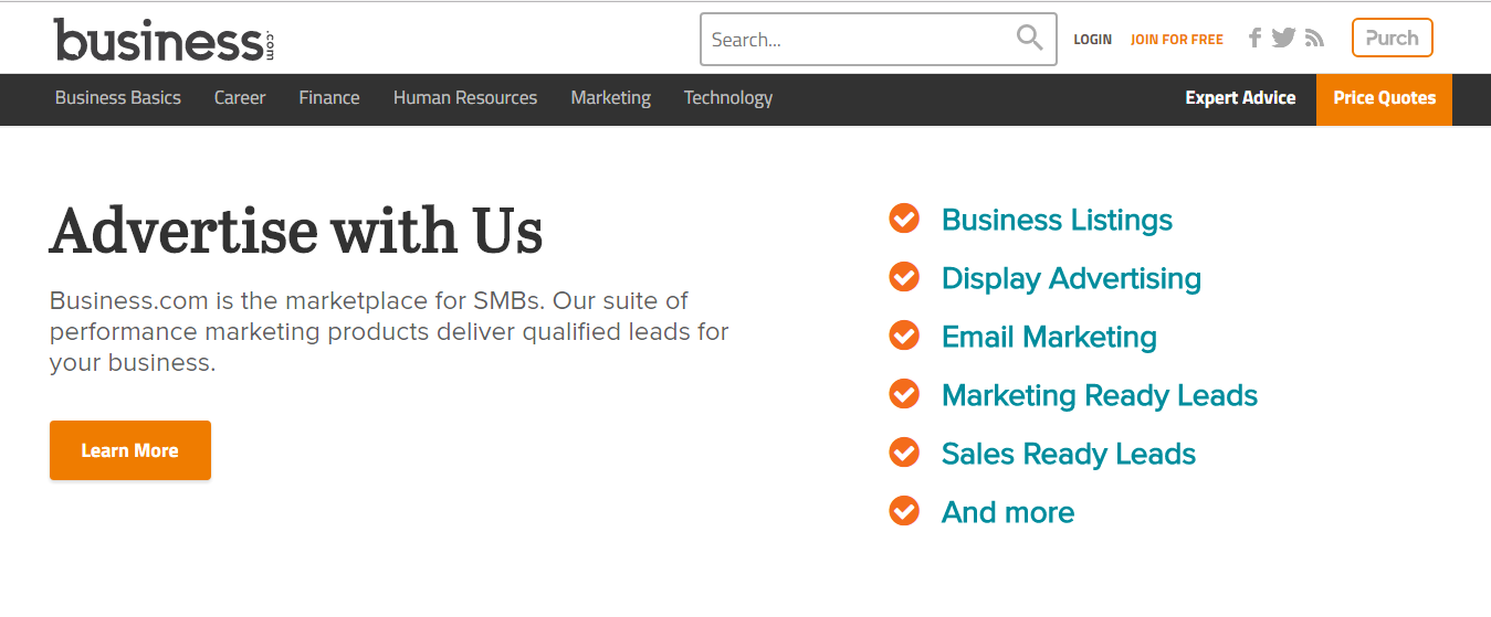 HOW TO GET LISTED IN BUSIENESS COM SEO DIRECTORY LISTING