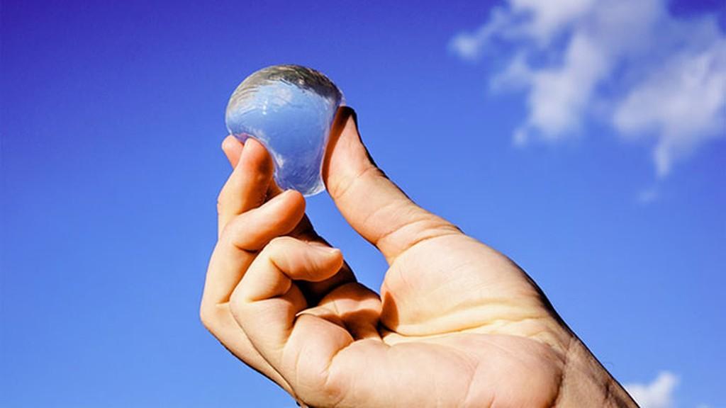 Resultado de imagen de burbujas de agua comestibles