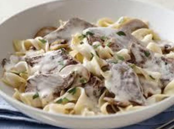 Homemade Beef Stroganoff Recipe