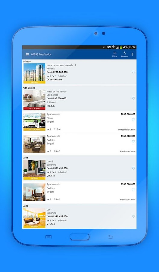 FincaRaiz - real estate- screenshot