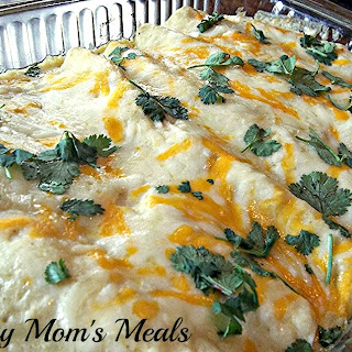 Chicken and Green Chile Enchiladas