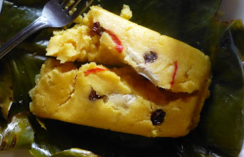 Photo: Country lunch: Tamal