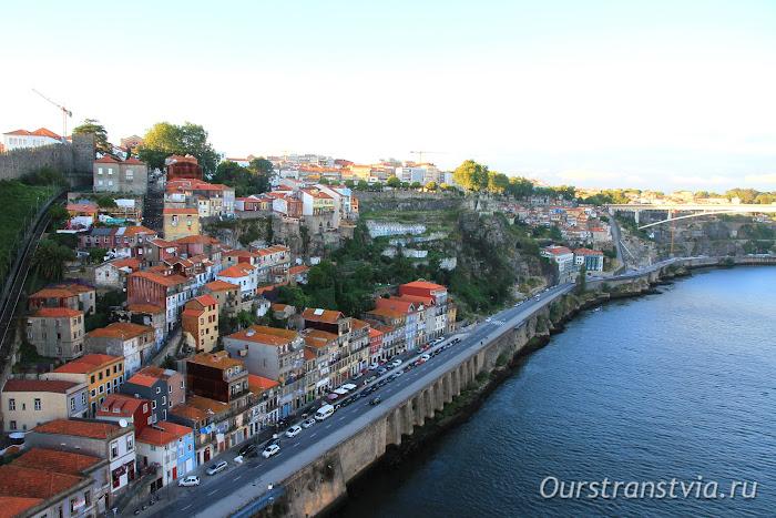 Порто, районы вдоль реки Дору