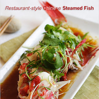 Restaurant-style Chinese Steamed Fish.