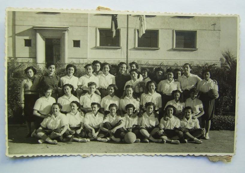 Escuela de la Seccion Femenina, en Carretera de Ronda en 1953 (Foto: Colección Museos de Terque).