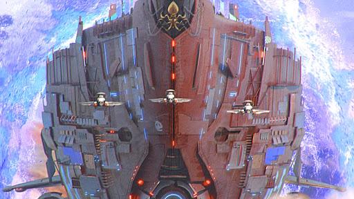 Ark of War: Galaxy Pirate Fleet  captures d'u00e9cran 10
