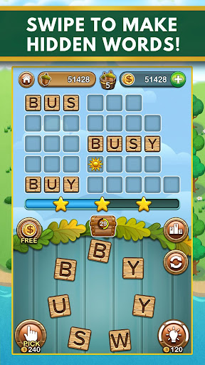 Word Forest - Free Word Games Puzzle 1.010 screenshots 1