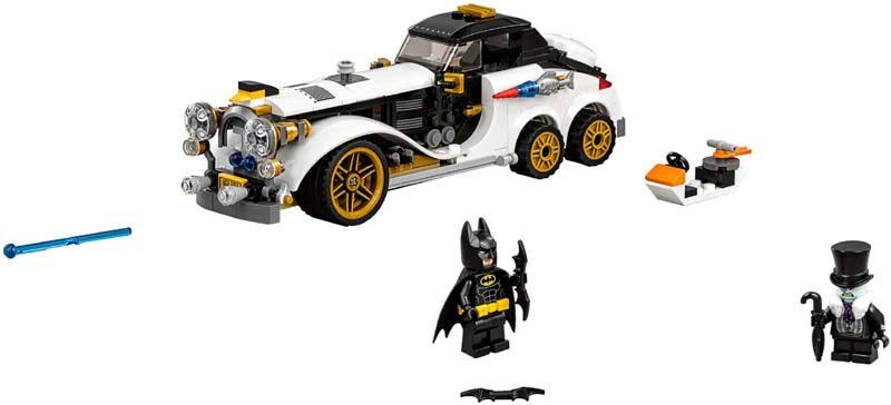 Contenido de Lego® 70911 Arrollador Ártico de The Penguin™