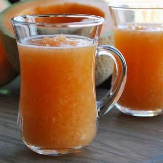 Persian Cantaloupe Smoothie - Paloudeh.