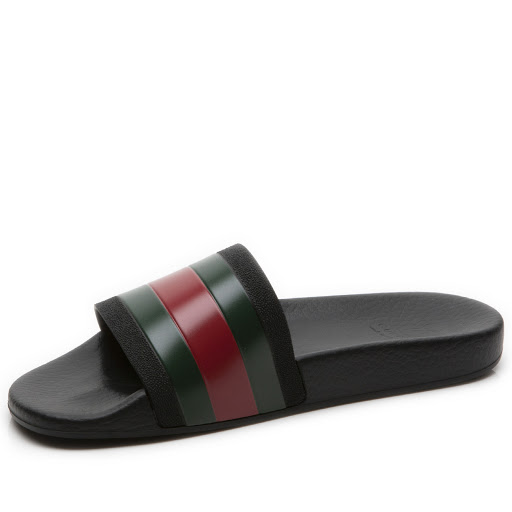 Thumbnail images of Gucci Rubber Slide Junior