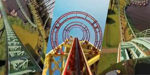 VR Thrills: Roller Coaster 360 (Google Cardboard) APK screenshot thumbnail 2