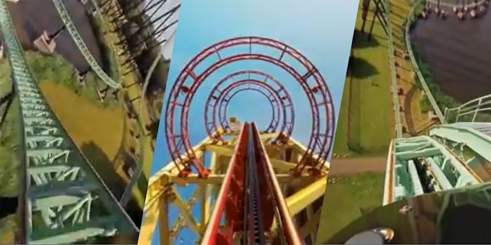 VR Thrills: Roller Coaster 360 (Google Cardboard)