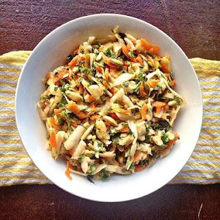 Jicama Salad With Roasted Pumpkin Seeds