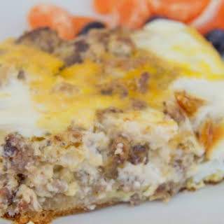 Sausage Egg Casserole With Cream Cheese Recipes.