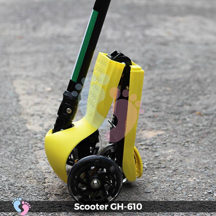 Xe trượt Scooter GH-610 gấp gọn 11