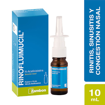 Rinofluimucil Spray   Nasal Frasco x10Ml. Zambon Acetilcisteína