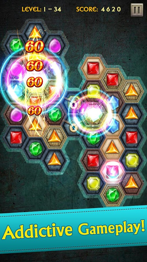 Screenshots of Jewels Legend for iPhone