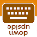 Upside Down Text Keyboard icon