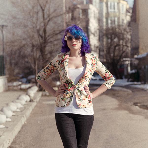 OOTD: Искам пролет / The Floral Blazer