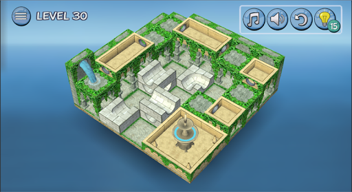 Flow Water Fountain 3D Puzzle Screenshots 17