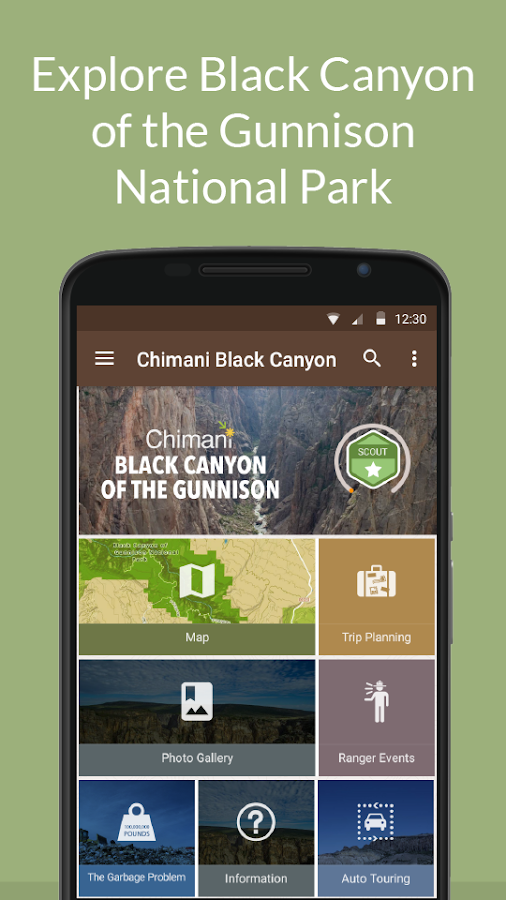 Black Canyon NP by Chimani- screenshot