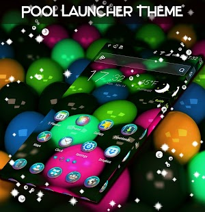 Pool Launcher Theme - náhled