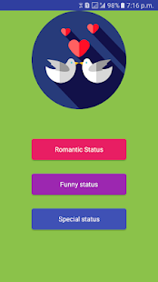 Download Romantic Status For PC Windows and Mac apk screenshot 1