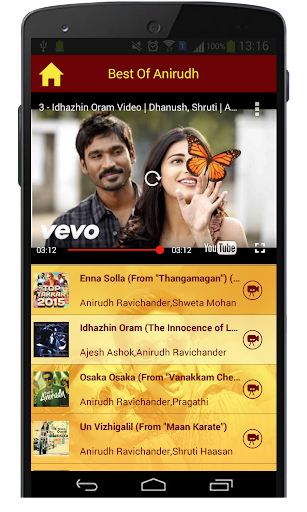 Best Of Anirudh Songs  screenshots 7