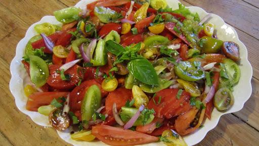 Comida del jardín o del mercado