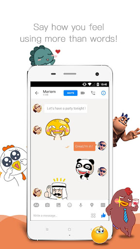 玩免費通訊APP|下載Sticker Master by UIysses app不用錢|硬是要APP