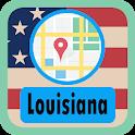 USA Louisiana Maps icon