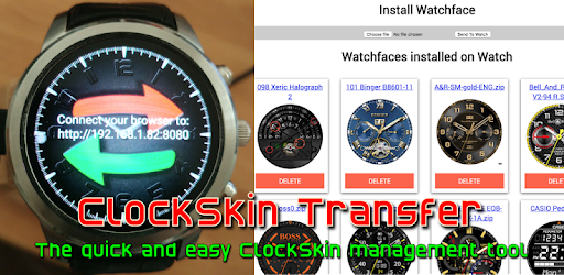 Clockskin Transfer – Apps on Google Play