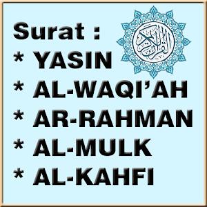 Unduh Yasin Waqiah Ar Rahman Al Mulk Al Kahfi Apk Versi