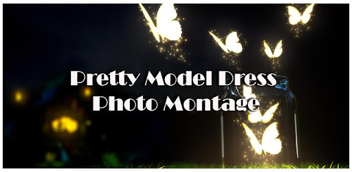 Pretty Model Dress Photo Montage for PC