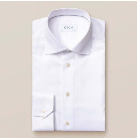 ETON vit signature twill slim fit extra long sleeve